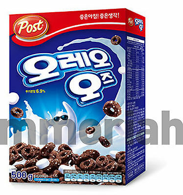 FREE SHIPPING New OREO O's Post Cereal Breakfast with Marshmallow 500g (17.6oz)