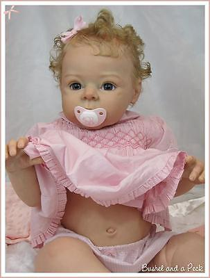 Boelle Doll Kit  By Adrie Stoete Unpainted Parts To Make A Reborn Baby