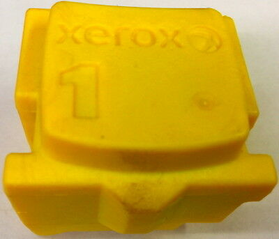 1 Yellow Genuine Xerox Phaser ColorQube 8570/8580 Solid Ink Stick 108R00928 *NEW
