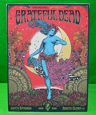 The Grateful Dead FIELD MAIDEN Fare Thee Well Concert Poster Dead and Company