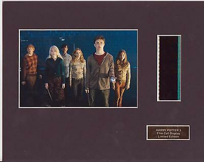 Harry Potter 5 Film Cell  Display Limited Edition Rare