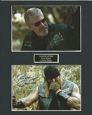Sons Of Anarchy Dual Photo #3 Display Limited Edition