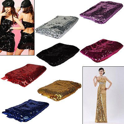 DIY Round Sequins Paillettes Sewing Wedding Craft Clothes Sparkling 7 Colors New