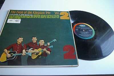 The Kingston Trio / The Best Of Vol 2 Lp