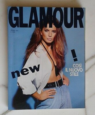 GLAMOUR anno 1 n. 1 marzo 1992
