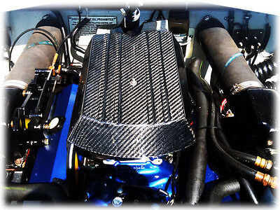 Carbon fiber engine cover, for Mercruiser 454 502 (carb)