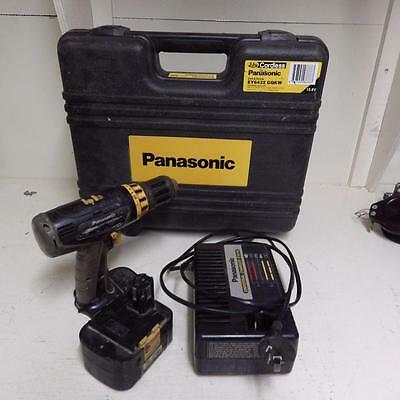 Panasonic EY6432 cordless drill in hard case with 1 battery and charger