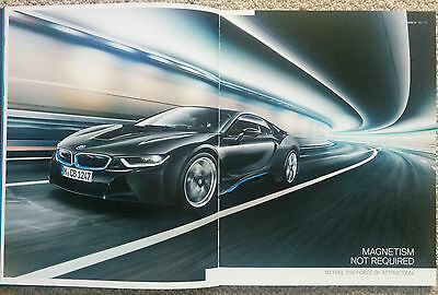 New BMW i8 Brochure 66 Pages with Hardback Cover Stunning - Mint Condition