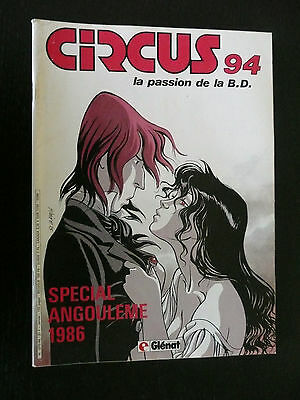 Magazine Circus N°94, éspecial engulement