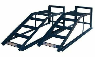2.5 Ton Tonne Pair Of Heavy Duty Car Ramps Vehicle Maintenance Garage Lifting