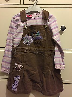 Girls Top And Skirt Set 3-4y