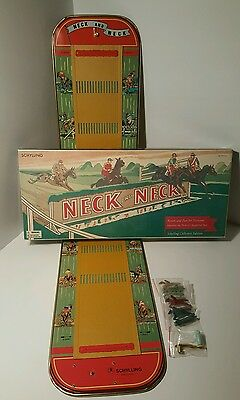 Neck And Neck Steeplechase Game -2003- Reproduction Schylling Collector's Series