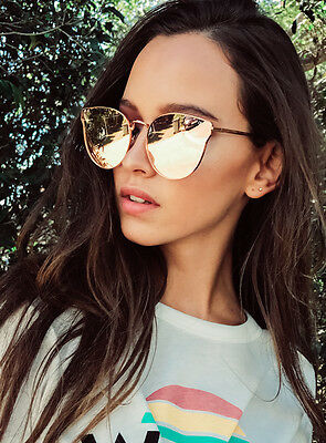 New Women's Quay Rose All My Love Sunglasses