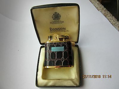 Ronson Whirlwind Gas Lighter In Unused Condition