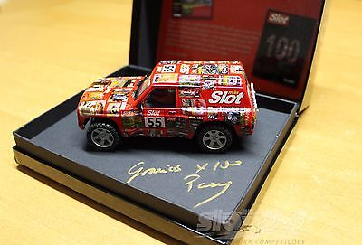 Nissan Patrol Scalextric Special Edition 99 units nº55 Very Rare #NEW#
