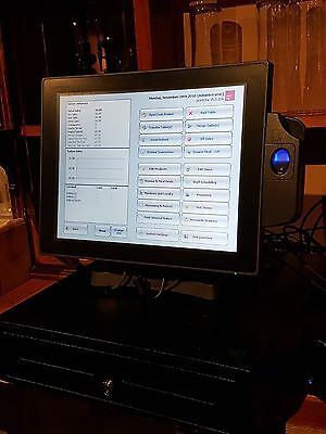 Point One Hospitality EPOS System With Integrated Touch Screen Computer