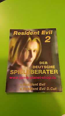 Resident Evil 2 Cheat Codes Lösungsbuch game-planet-shop