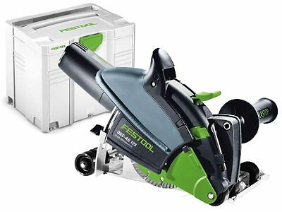 Festool DSC-AG 125 Plus GB 240V Diamond Cutting Machine in Systainer - 574807