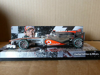 Minichamps 1:43 Jenson Button McLaren Mercedes MP4-25 Australian GP 2010 Winner