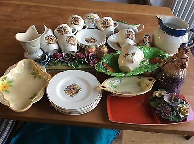 Lovely lot of Art deco pottery Many Items -Reduced!!!!