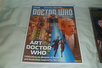 bbc doctor who magazine special edition the art of the doctor
