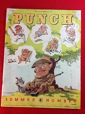 Vintage : PUNCH Magazine : 7th June 1943 : SUMMER Issue