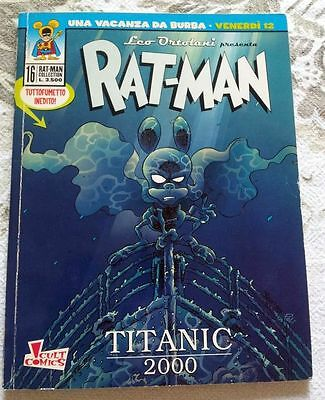 fumetto RAT-MAN COLLECTION n°16 prima edizione originale Panini Comics