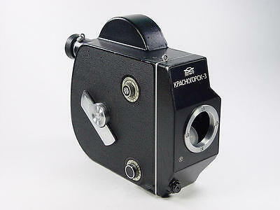 Very good 16mm movie cine camera Reflex Krasnogorsk-3 body. s/n 8305733. M42.