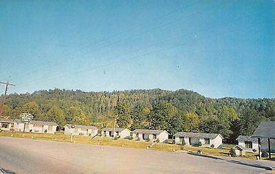 Soco Valley Motor Court Cherokee North Carolina 1950-60 Chrome Postcard Roadside