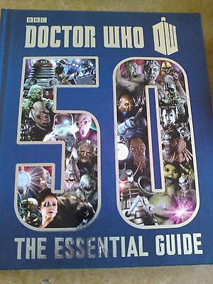 Doctor Who 50th The Essential Guide Hardback book
