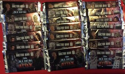 Doctor Who Alien Attax X 20 Packs Promotional Topps
