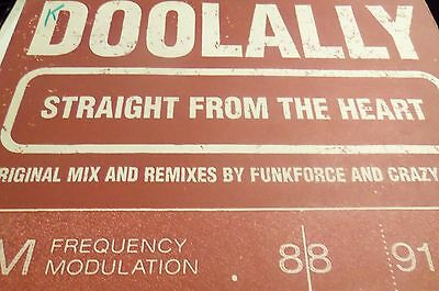 Doolally ‎– Straight From The Heart - Locked On ‎– LOX 104 - crazy bank remix