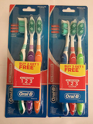 Oral-B 123 Toothbrush (3-Pack) X2