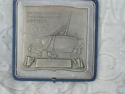 large medal southend on sea photographic society w r granville 1911 large size