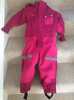 Didriksons Scandinavian Ski, snow suit age 3, very warm, used in Lapland!