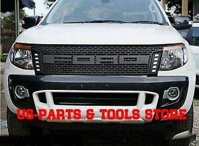 Ford Ranger Kühlergrill Tuning Grill LED 12 - 14 Raptor Frontgrill 2012 2014 15