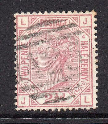 Great Britain 2 1/2 Penny Stamp c1873-80 Used SG141 Plate 4