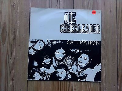 "Die Cheerleader ‎– Saturation : Abstract Sounds 12"" 1993"