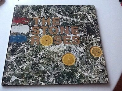 Stone Roses 1st Lp 1989 Pressing Non- Embossed Ore Lp 502 self titled