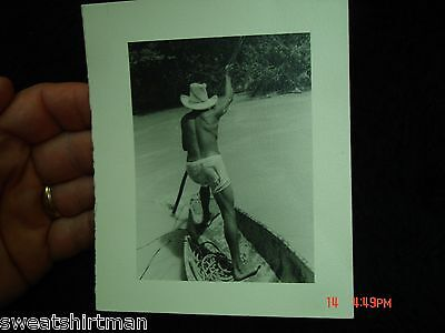 1940 canoe on Rio Magdalena river jungle photo Colombia Venezuela South America