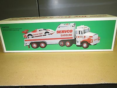 SERVCO 1989 TRUCK and RACE CAR - NEW IN BOX