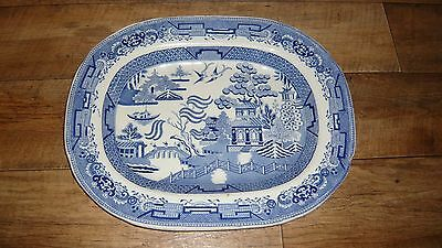 Very Large Willow Pattern Platter