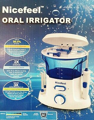 Irrigador Bucal- Dental Familiar Para Limpieza De Dientes Sanos