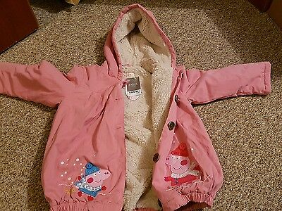 peppa pig coat 4-5 next