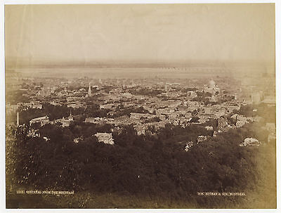 Albumen photo: MONTREAL from the Mountain by Notman, late 19th century, CANADA