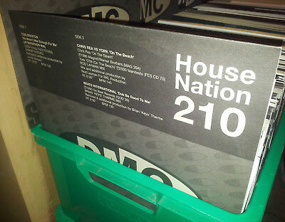 "DMC DANCE HOUSE OLD SKOOL MIXES 90s 12"" RECORD COLLECTION JOB LOT NEW OLD STOCK"