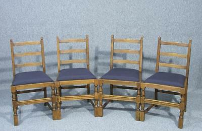 Lovely Set Of Old Charm Style Dining Chairs