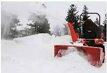 """68"""" Meteor Sb68 Two Stage 3Pt Snow Blower For Tractors, Manual Chute"""