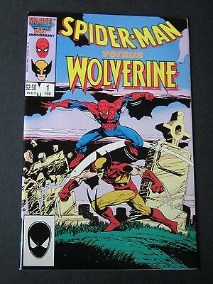 SPIDERMAN Versus WOLVERINE #1