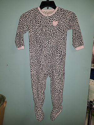 Girl's Carter's Footed Blanket Sleeper Size 3T NWT